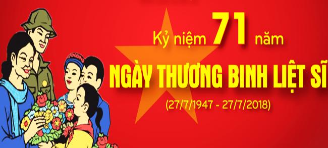Quận Bình Thạnh thăm thương binh đồng bào dân tộc nhân kỷ niệm 71 năm Ngày  Thương binh Liệt sĩ 27/7 (27/7/1947 – 27/7/2018)